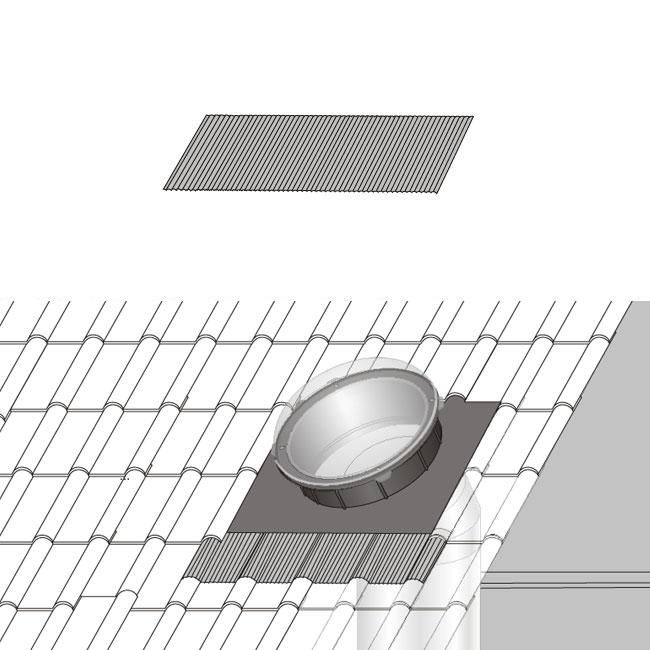 SR adapter do pokryc falistych - ŚWIETLIK TUNELOWY SR 350